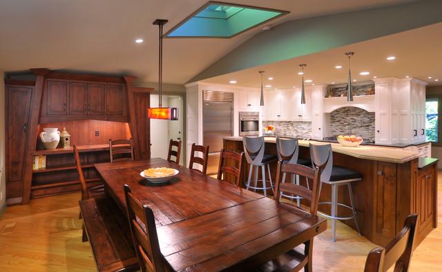 Moreland Residence traditional-kitchen