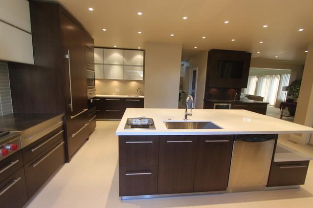 Morgan Creek / Renovation contemporary-kitchen