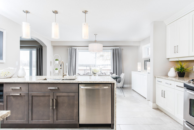Morning crest modern kitchen other by granite homes for Morning kitchen ideas