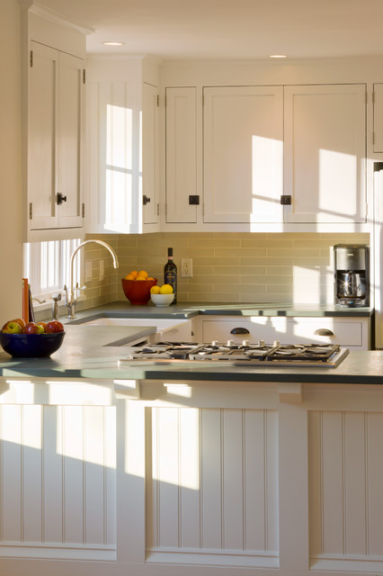 Morning glory cottage traditional kitchen boston for Morning kitchen designs
