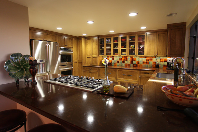 Morning view malibu eclectic kitchen los angeles for Morning kitchen designs