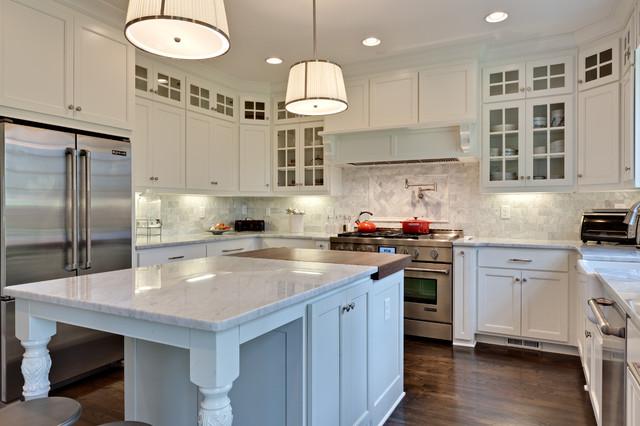 Morningside Make-Over traditional-kitchen