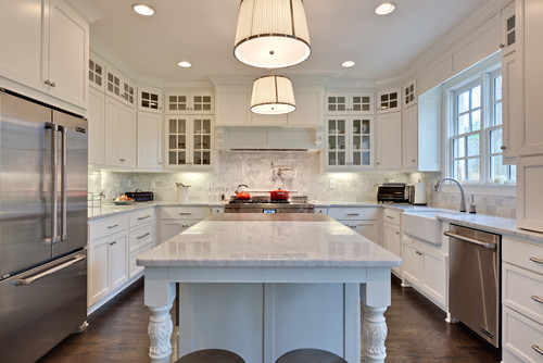 what is the backsplash material is it the same carrera marble - What Is Backsplash