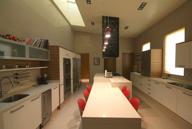 MoRo house contemporary-kitchen