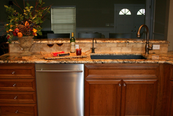 Morr Residence traditional-kitchen