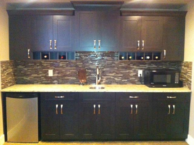 Morrison Contemporary Kitchen Edmonton By Michelle Yaworski Gem Cabinets Ltd