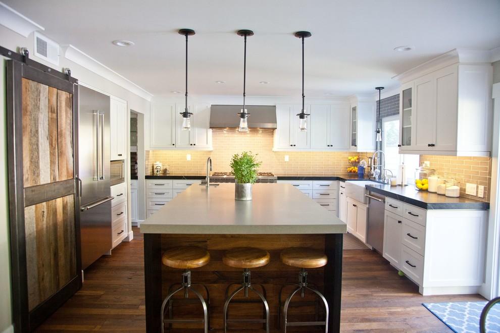 Morrison Sutton Kitchen Remodel Transitional Kitchen Los Angeles By Holly Viane Interiors Llc