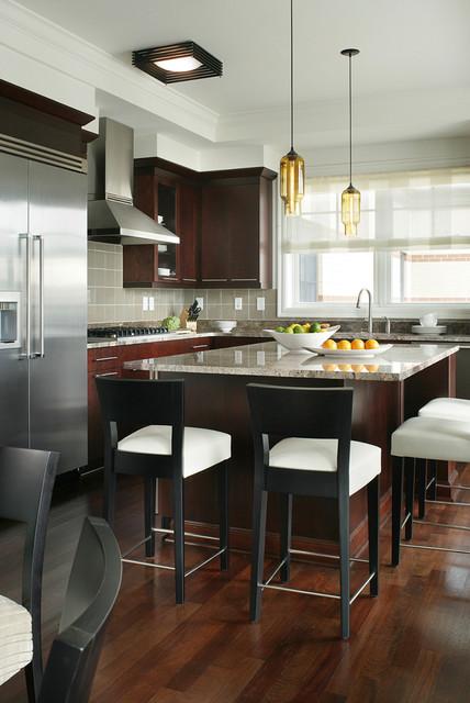 Morristown Nj Penthouse Contemporary Kitchen New York By Yzda Yoshida Zanon Design