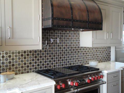Mosaic Backsplash traditional-kitchen