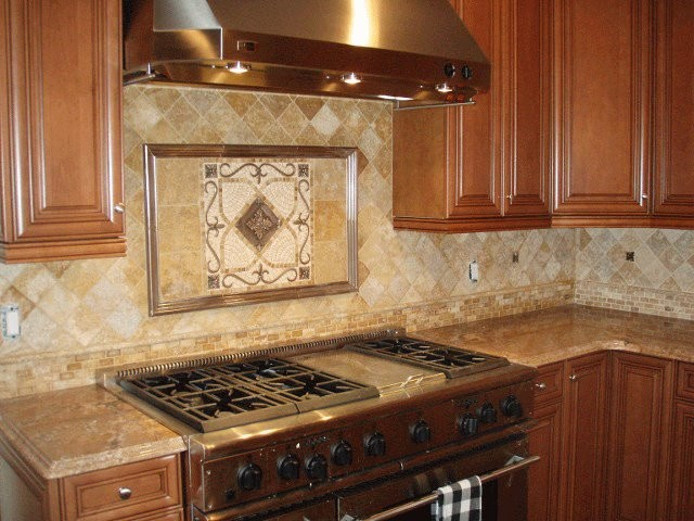 Mosaic Medallions Traditional Kitchen San Diego By