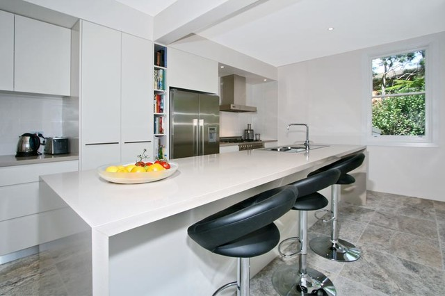 Mosman Modern Kitchen Sydney By Exclusive Kitchens Joinery