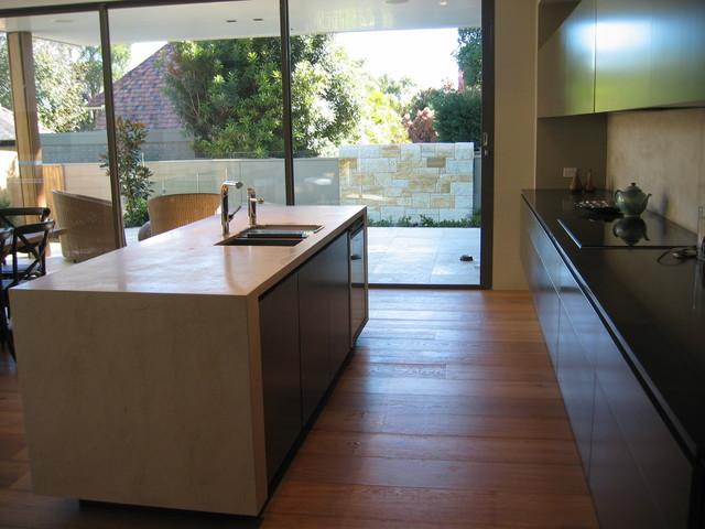 Mosman Renovation contemporary-kitchen