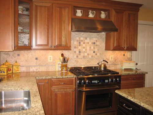 Do you have any ideas how i can update my kitchen that is oak for Update kitchen ideas