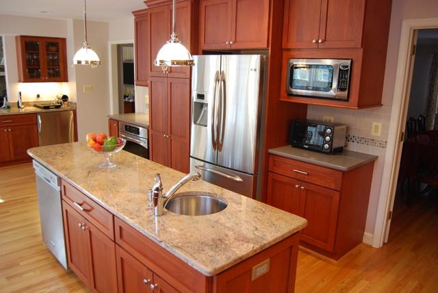Moss Kitchen contemporary-kitchen