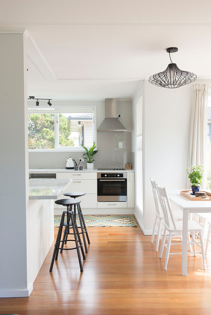 Mount Wellington House Renovation scandinavian-kitchen