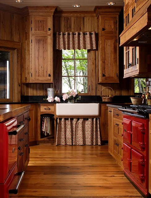 Mountain Air - Rustic - Kitchen - Other - by Ambiance Interiors