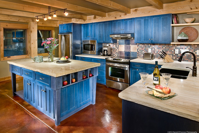 Mountain Home rustic-kitchen