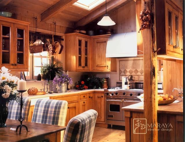 Mountain Home Kitchen Farmhouse Kitchen Santa