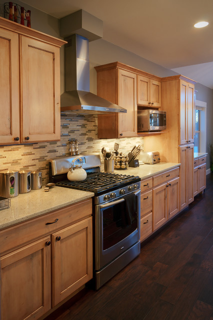 Mountain Home Remodel traditional-kitchen