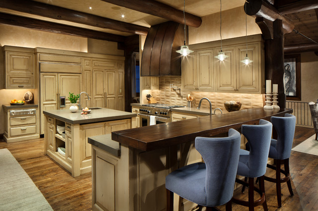 Mountain Home Remodel Rustic Kitchen Other Metro