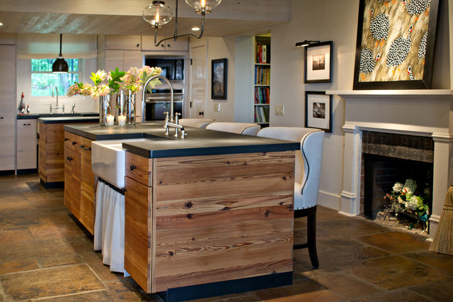 Mountain Home Remodel Rustic Kitchen Other By