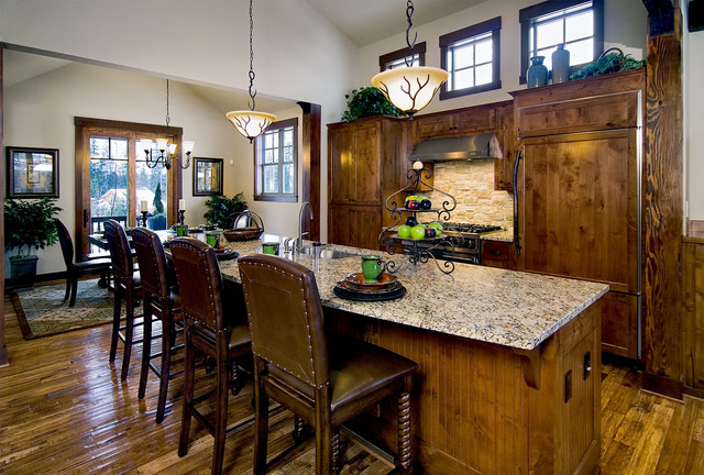 Mountain Home Suncadia Traditional Kitchen Seattle