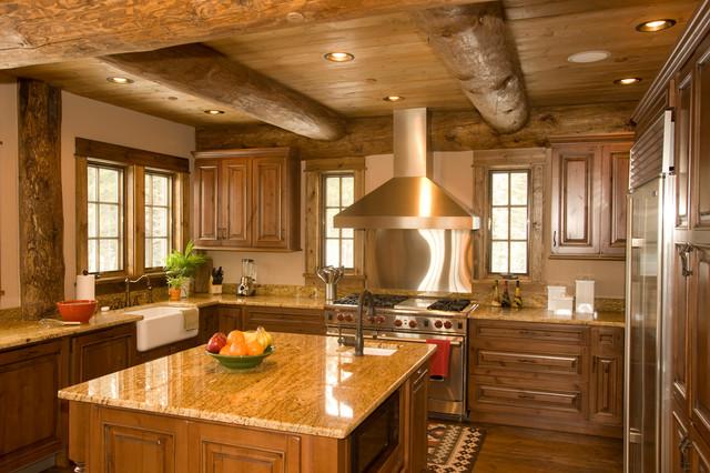 Mountain House Rustic Kitchen
