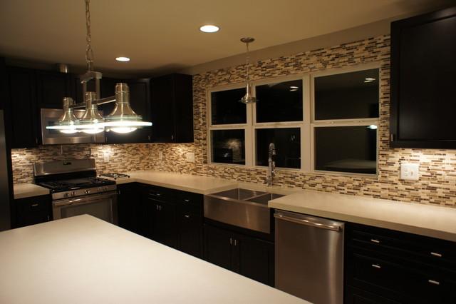 Mountain Laurel contemporary-kitchen