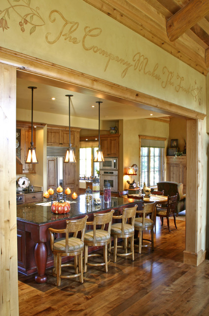 Mountain Lodge eclectic-kitchen