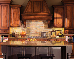 Mountain Resort Kitchen traditional-kitchen