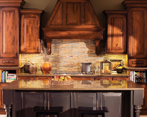 The granite gurus design style week 10 rustic kitchens for Traditional rustic kitchen