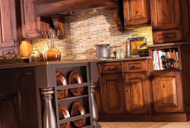 Mountain Resort Kitchen traditional-kitchen