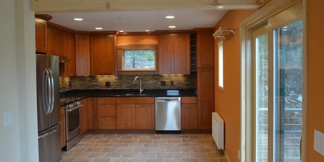 Mountain Retreat rustic-kitchen