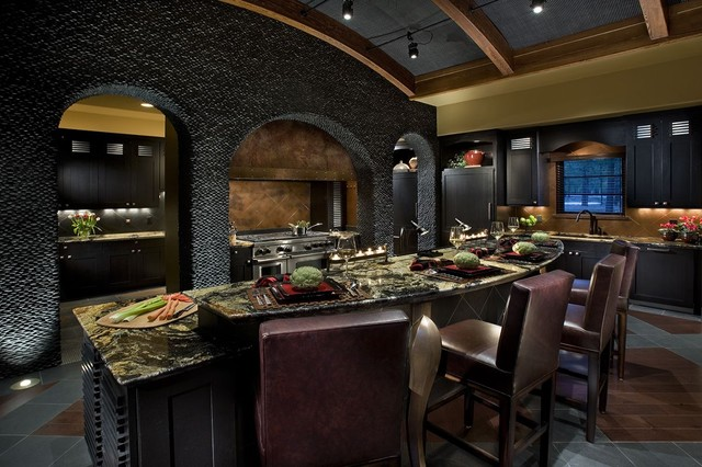 Mountain Retreat - contemporary - kitchen - phoenix - by Debra May ...