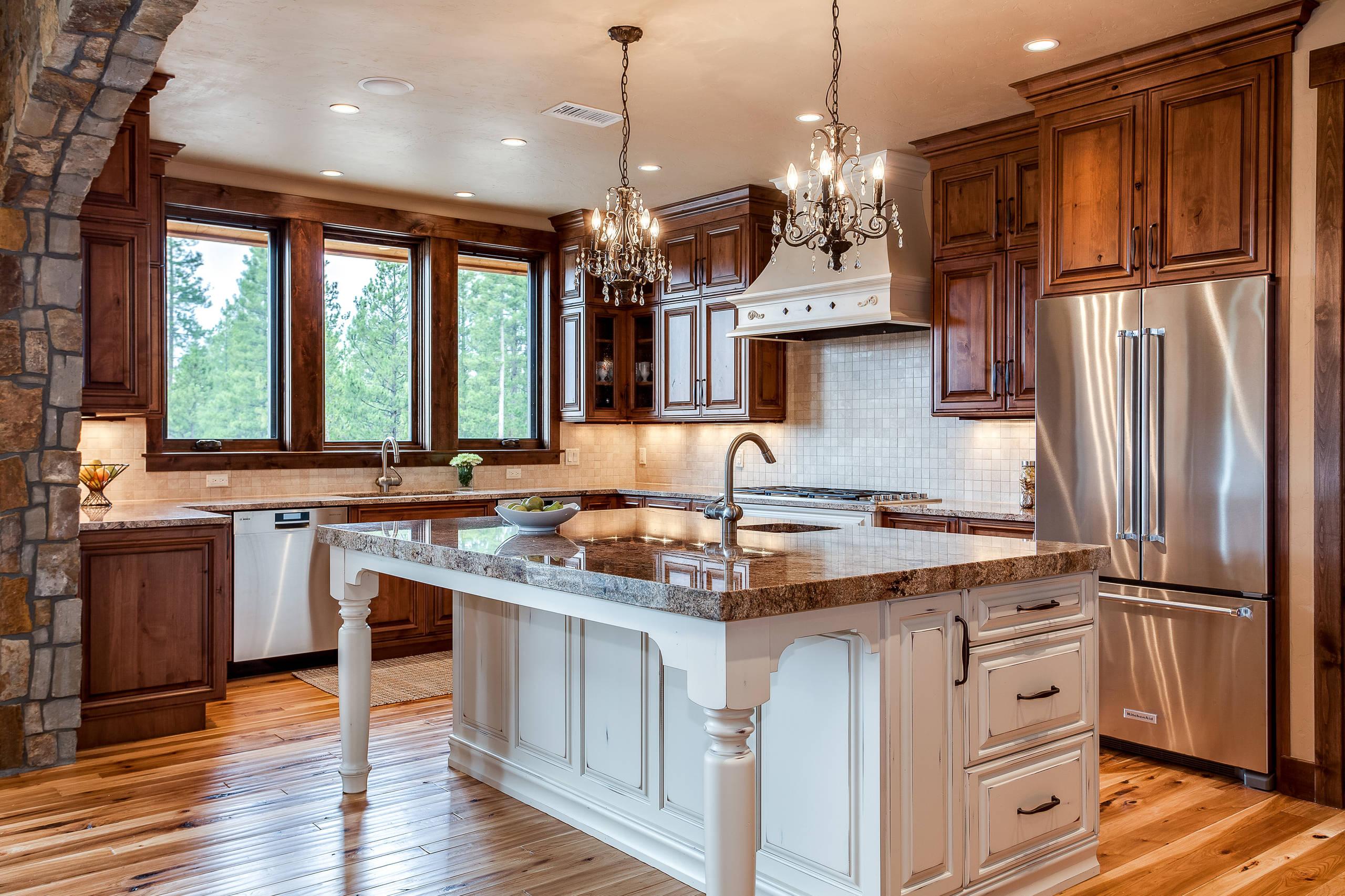 Mountain Retreat Kitchen Design Frasier Colorado Rustic Kitchen Denver By Jm Kitchen Bath Design Houzz