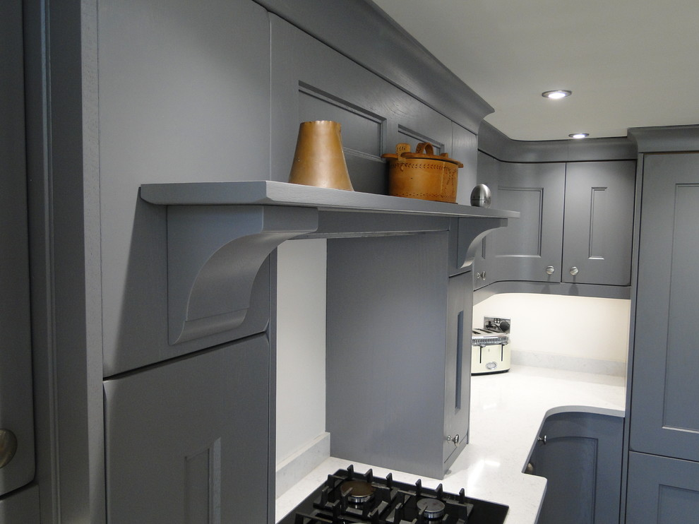 Mr And Mrs A Marpatt Woodsman Painted Oak Kitchen Near Northampton Contemporary Kitchen Other By Lifestyle Kitchens