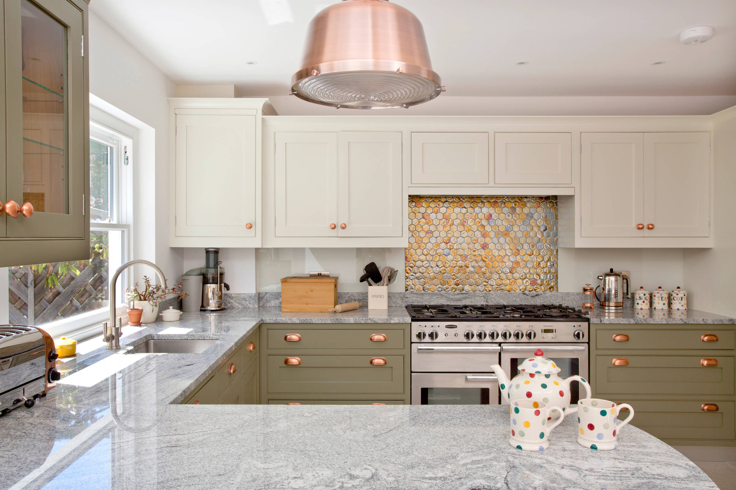 Cream And Olive Green Colour Scheme Kitchen Ideas Photos Houzz