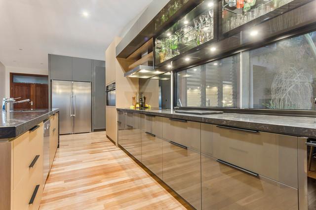 Mt Nathan Contemporary Kitchen Brisbane By