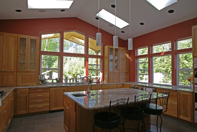 Nelson kitchen traditional kitchen seattle by for Kitchen design nelson