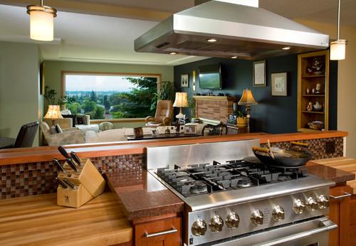Cucina professionale per uso domestico