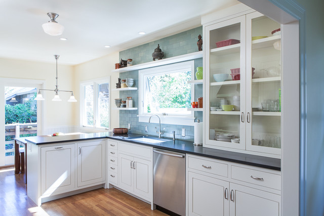Mt tabor remodel transitional kitchen portland by for Colorado kitchen designs llc
