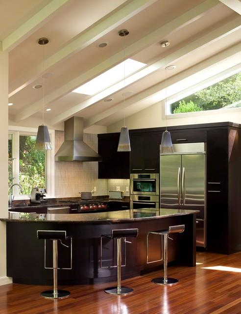 Mt. Tam Redo contemporary-kitchen