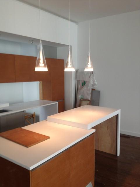 Mt Vernon Gardens Town Homes contemporary-kitchen