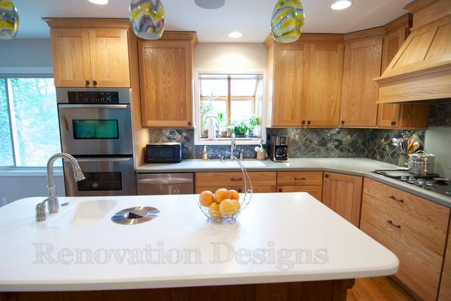 "Mtn. Brook ""Eco Friendly"" Kitchen traditional-kitchen"