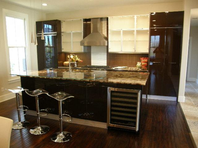 Mueller Parade Home contemporary-kitchen