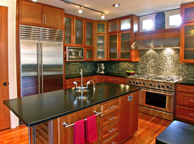 Mukilteo Style contemporary kitchen