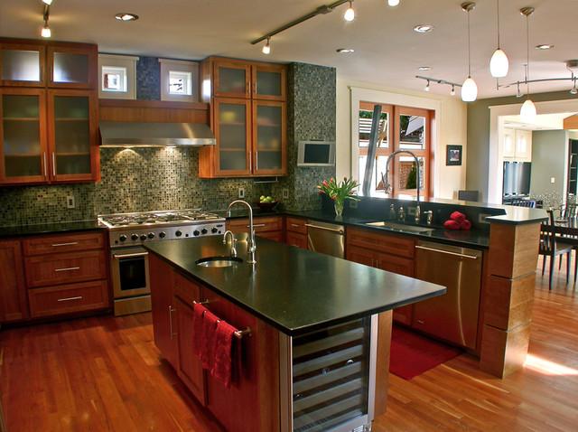Mukilteo Style contemporary-kitchen