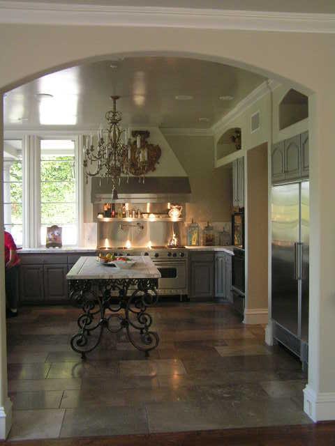 Mulholland estate remodel and furnish mediterranean-kitchen