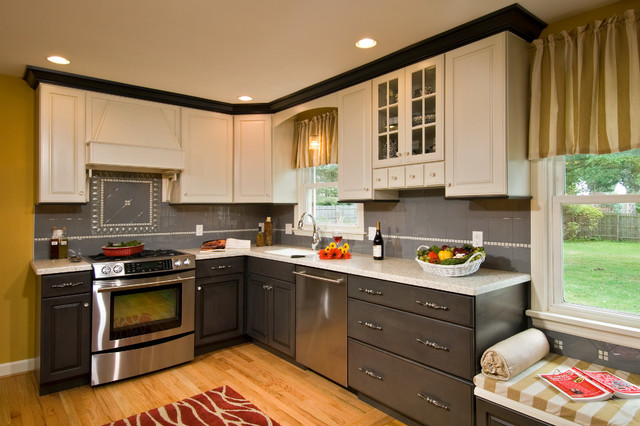 Multi Colored Kitchen Traditional Kitchen Boston By Kitchen And Bath World Inc Houzz Au
