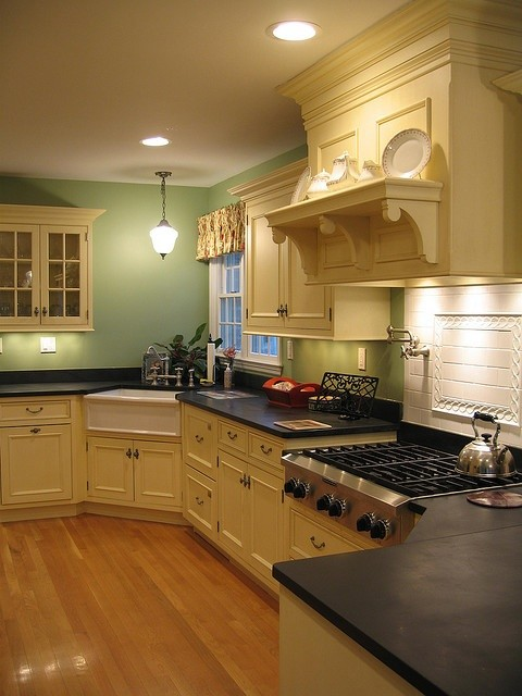 Multi Level Kitchen Design traditional-kitchen